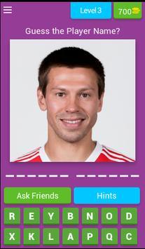 Guess Football Player Russia screenshot 3