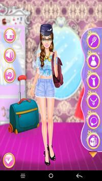 Monda Air Hostess Dress up screenshot 1