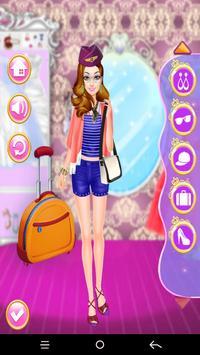 Monda Air Hostess Dress up screenshot 3