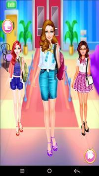 Monda Air Hostess Dress up screenshot 4
