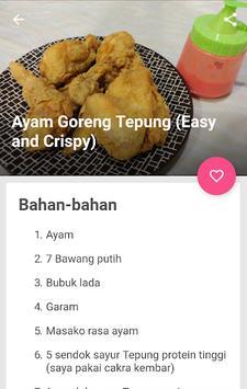 resep ayam goreng tepung enak & gurih screenshot 1