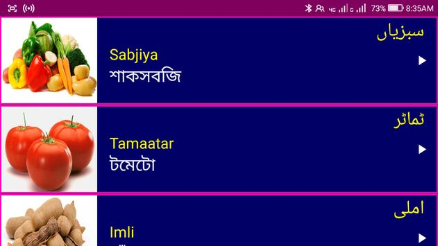 Learn Urdu From Bangla screenshot 13