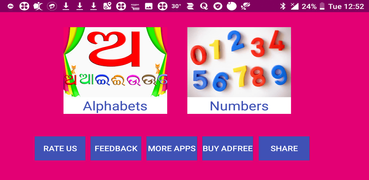 Learn Odia Alphabets and Numbers