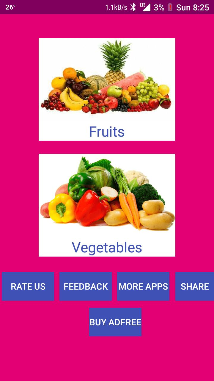 Learn Punjabi Fruits and Vegetables for Android - APK Download