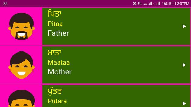 Learn Punjabi From English screenshot 22