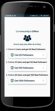 Tiko - Get fans & followers & likes tk تصوير الشاشة 3