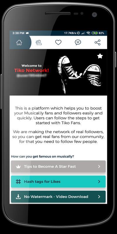 download tiko - fans for tik.tok musically 1.0.0 apk