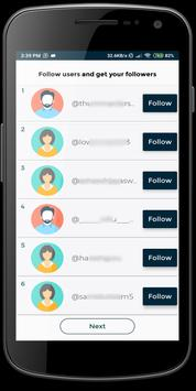 Tiko - Get fans & followers & likes tk تصوير الشاشة 1