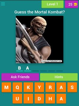 Mortal Kombat Combo Quiz screenshot 7