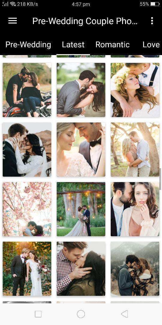Pre-Wedding Photoshoot (10000+ Poses Ideas) for Android