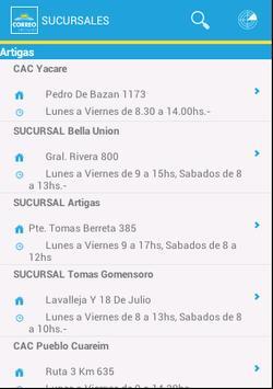 Correo Uruguayo screenshot 4
