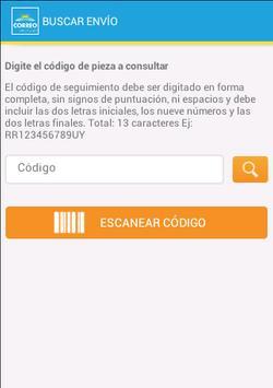 Correo Uruguayo screenshot 5
