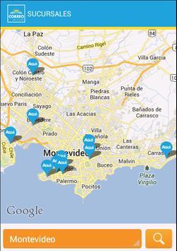 Correo Uruguayo screenshot 1