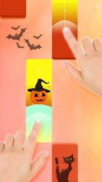 Halloween Piano Tiles 2019 poster