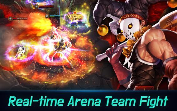 Iron League - Real-time Global Teamfight screenshot 1