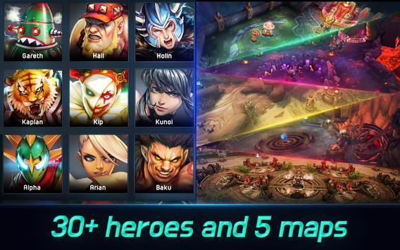Iron League - Real-time Global Teamfight screenshot 3
