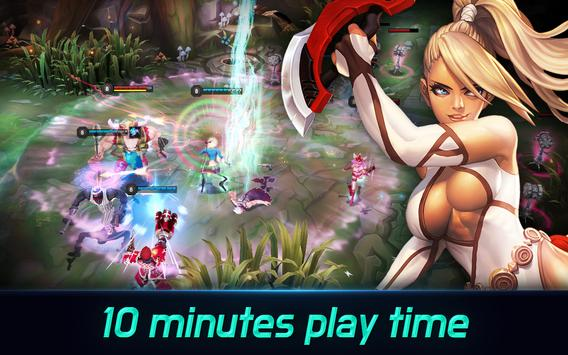 Iron League - Real-time Arena Teamfight screenshot 4