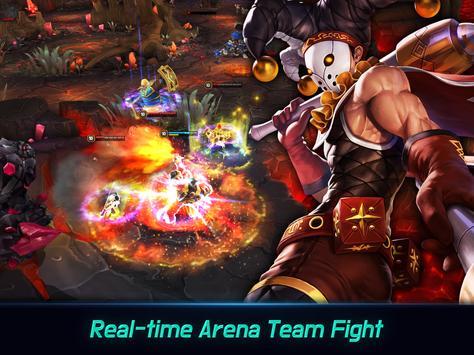 Iron League - Real-time Global Teamfight screenshot 6