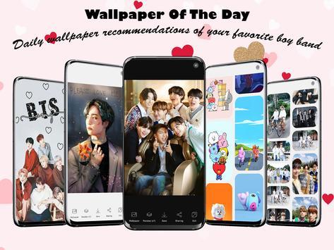 BTS Wallpaper Full HD 2021 poster