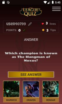 LeagueOfQuiz - See how much you know about lol screenshot 4