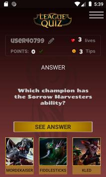 LeagueOfQuiz - See how much you know about lol screenshot 2