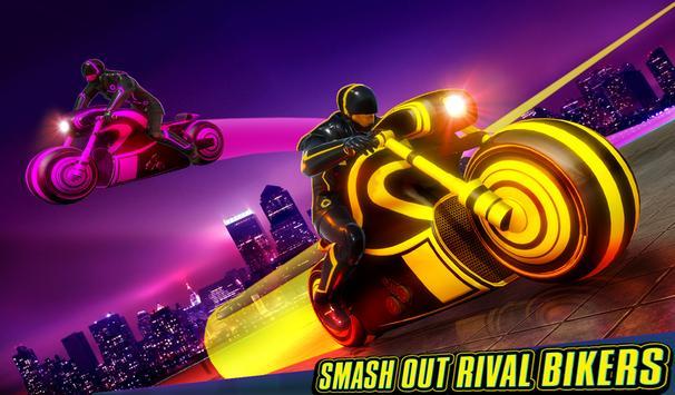 Light Bike Stunt Racing Game screenshot 10