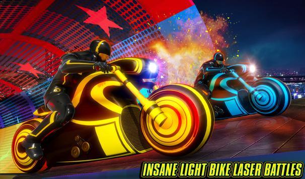 Light Bike Stunt Racing Game screenshot 12
