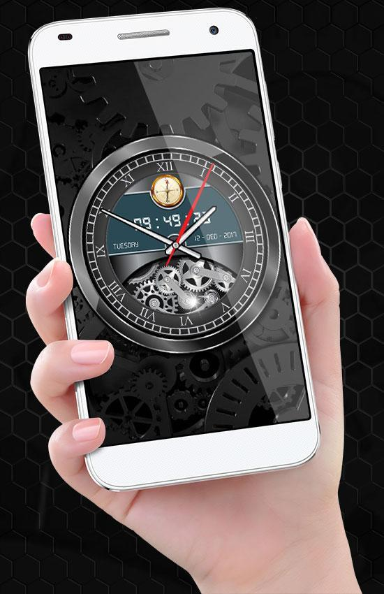 Luxury Watch Analog Clock Live Wallpaper Free 2019 for