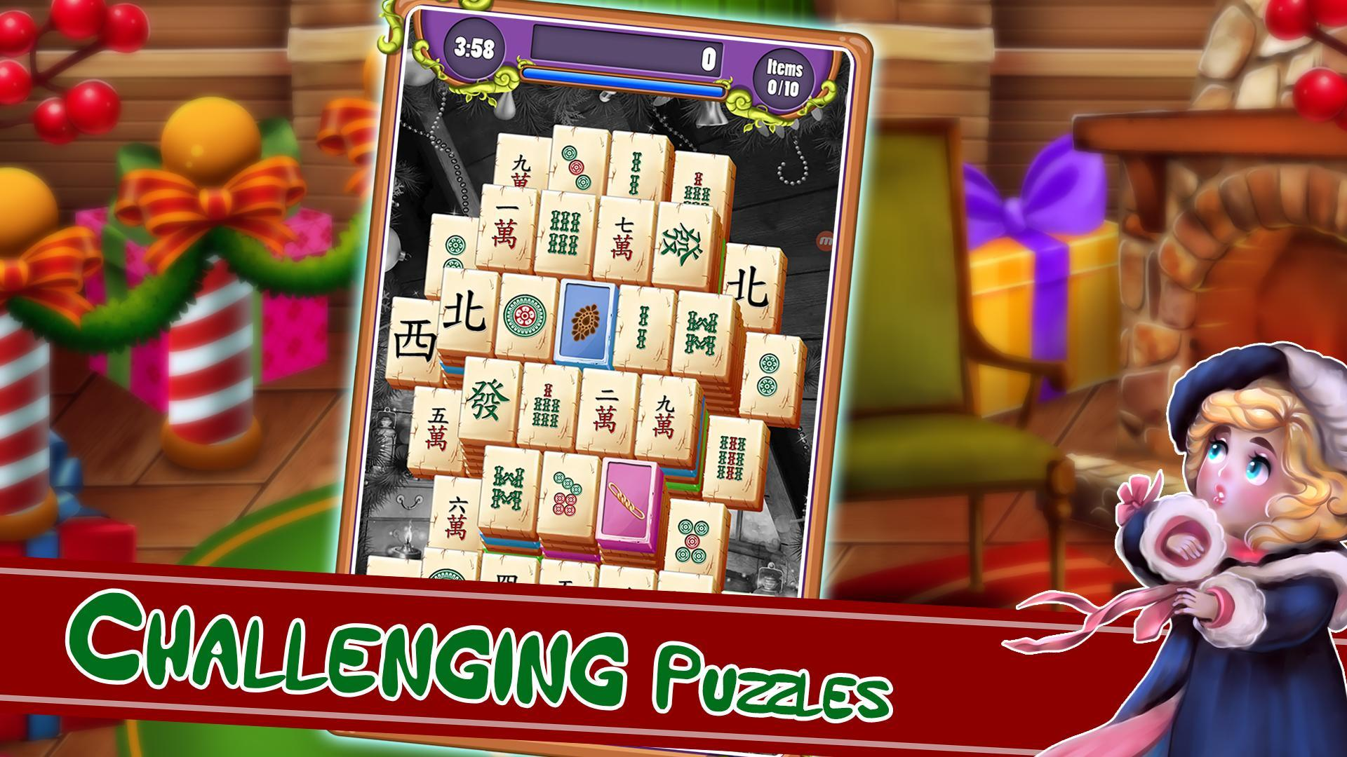 Christmas Mahjong.Christmas Mahjong For Android Apk Download