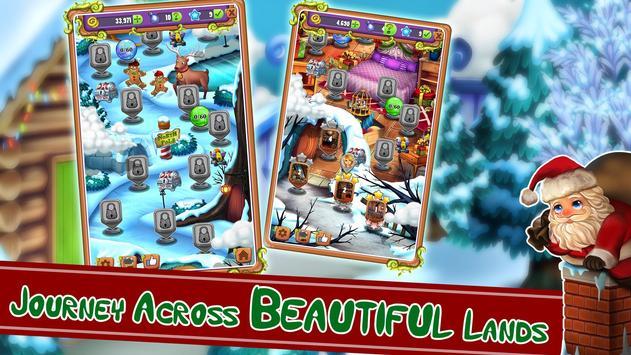 Christmas Mahjong screenshot 1
