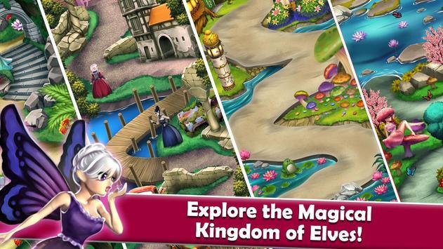 Mahjong Magic Worlds: Journey of the Wood Elves 截圖 7