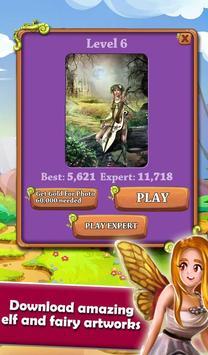 Mahjong Magic Worlds: Journey of the Wood Elves 截圖 3