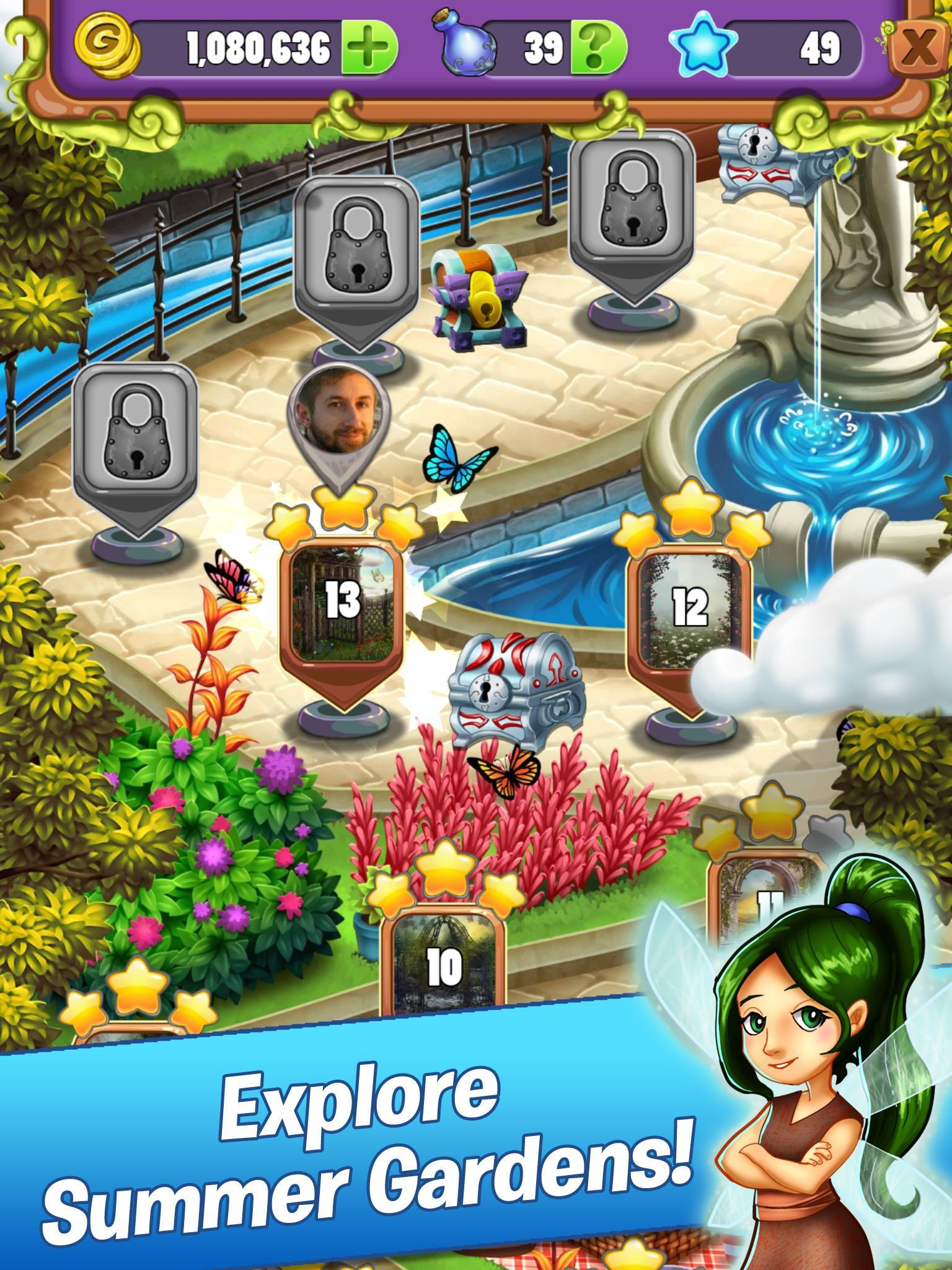 Mahjong Garden Four Seasons - Free Tile Game for Android