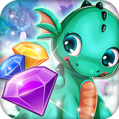 Match 3 Fantasy Quest: Hero Story icon