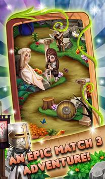 Match 3 Fantasy Quest: Hero Story screenshot 16