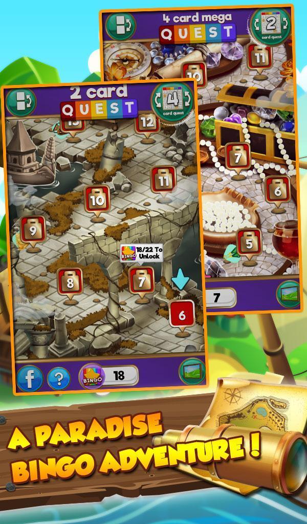 Bingo Treasure Quest Paradise Island For Android Apk Download