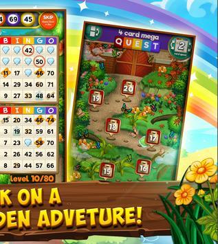 Bingo Quest - Summer Garden Adventure screenshot 1