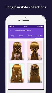 Hairstyles step by step easy, offline - DIY screenshot 4