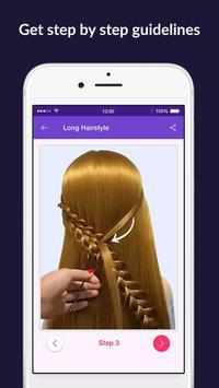 Hairstyles step by step easy, offline - DIY screenshot 5