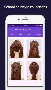 Hairstyles step by step easy, offline - DIY screenshot 6