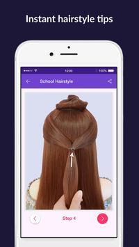 Hairstyles step by step easy, offline - DIY screenshot 7
