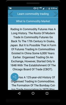 Learn commodity trading screenshot 2