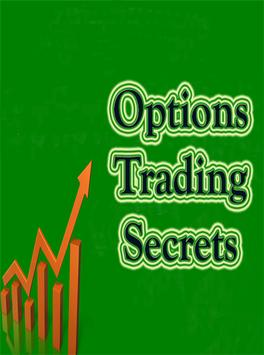 Options trading secrets poster
