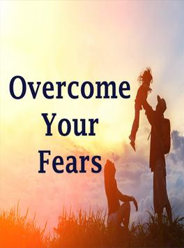 Overcome your fears poster