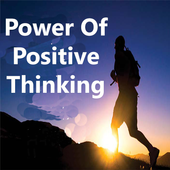 Power of positive thinking icon