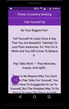 Power of positive thinking screenshot 2