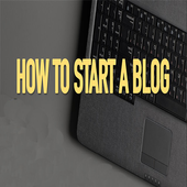How to start a blog icon