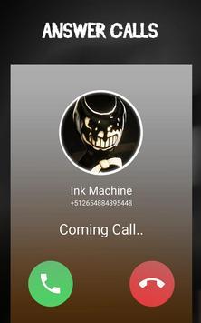 Bending And The Ink Machine Video Call Simulator screenshot 1