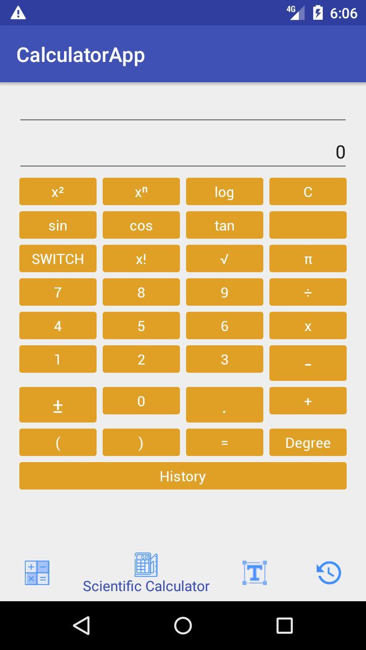 Free Calculator APP - Standard, Scientific & Unit for