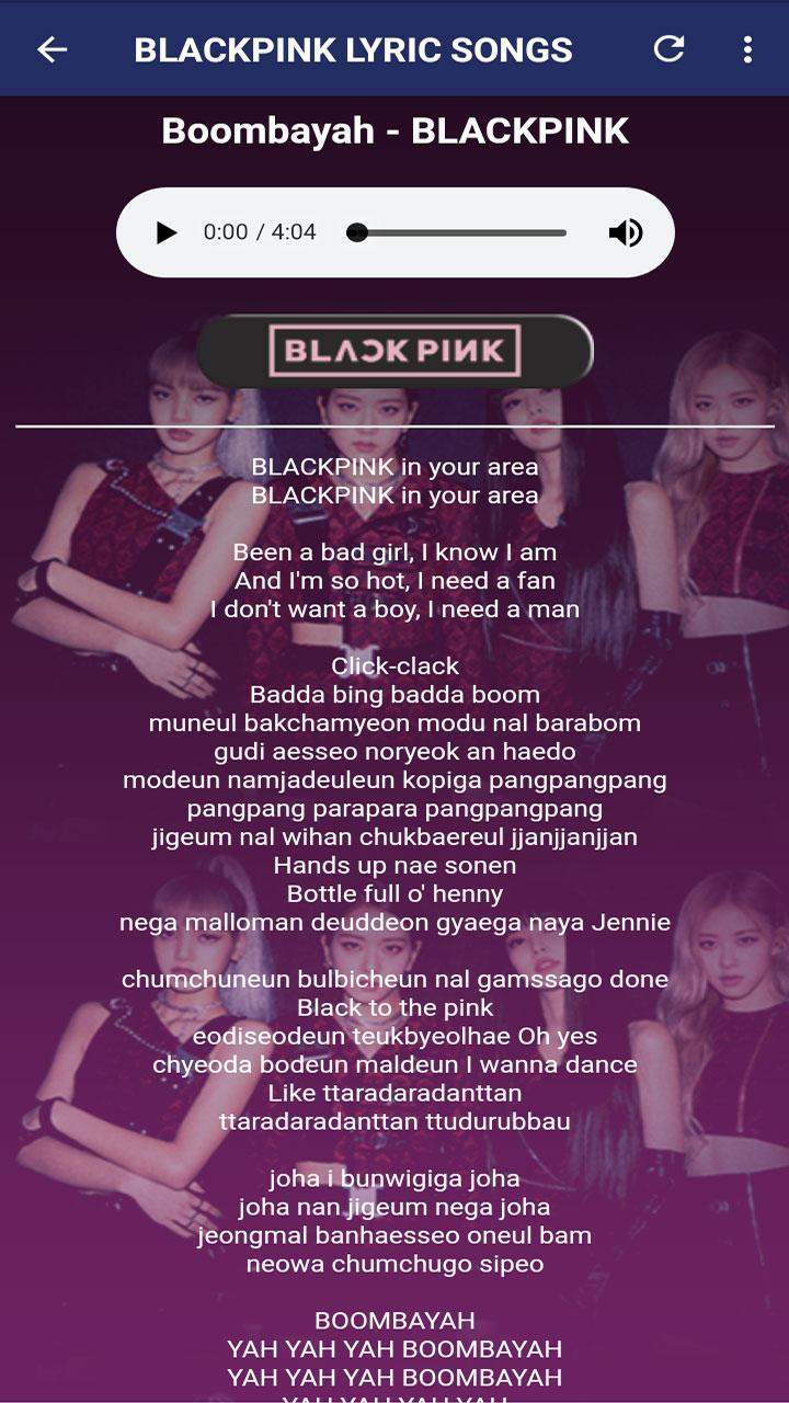 Awesome Blackpink Pubg Song Lyrics wallpapers to download for free greenvirals